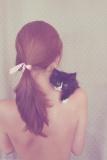 Девушка Кошка